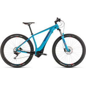 Cube Reaction Hybrid EXC 500 E-MTB Hardtail blue